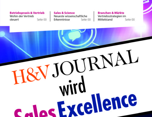 H&V Journal wird zu SalesExcellence